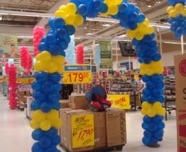 Mega Feirão de Eletro Walmart Supercenter Bauru-SP